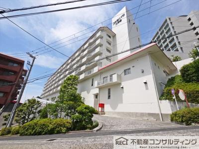【地図】コスモハイツ六甲台