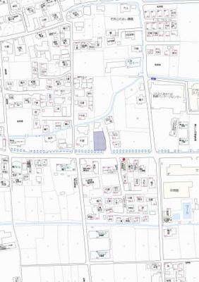 【地図】八女市吉田新築建売住宅