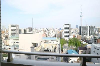 【展望】クレストフォルム浅草ブライトコート