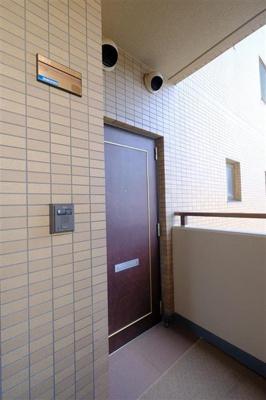 【玄関】アークマンション鷺洲