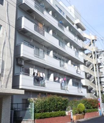 【外観】ライオンズマンション富岡八幡 4階 角 部屋 リ ノベーション済