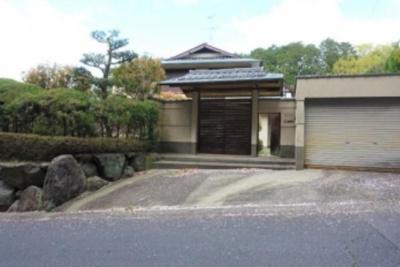 【外観】修学院檜峠町 土地200坪 邸宅