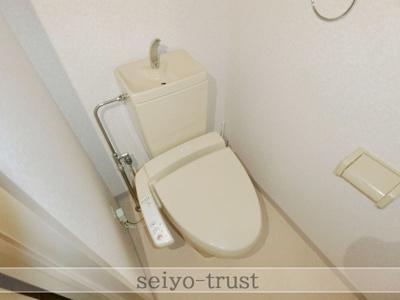 【トイレ】メティスビルわたなべ
