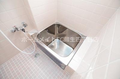 【浴室】オーク8