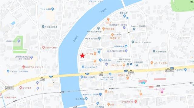 【土地図】川棚売地