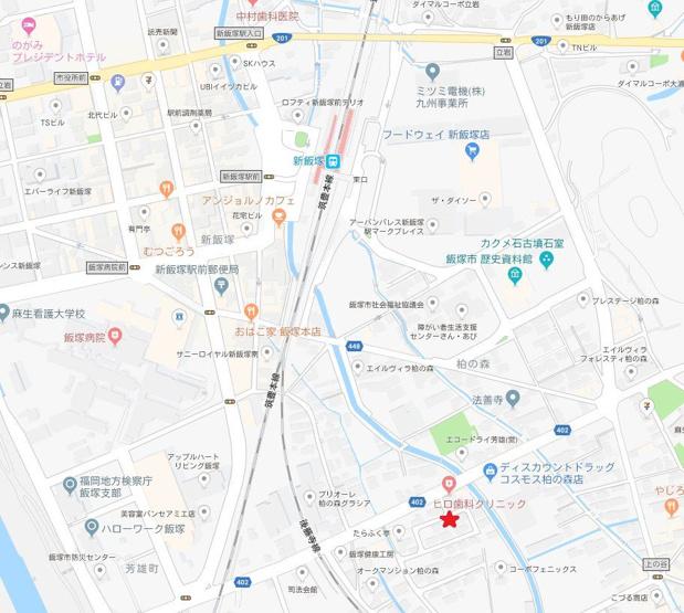 【地図】柏の森戸建