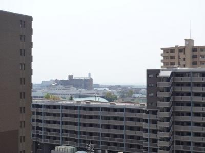 物件からの眺望(2020年4月8日12:00頃)撮影