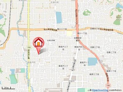 【地図】森田一戸建