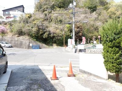 【前面道路含む現地写真】廿日市市宮島口2丁目 土地