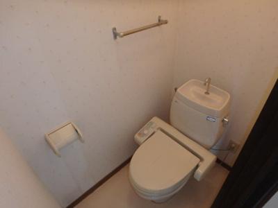 新田 アスリートB 2DK トイレ
