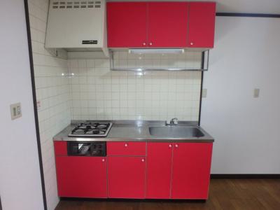 新田 アスリートB 2DK キッチン