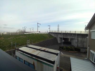 【展望】北名古屋市久地野幟立