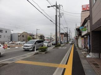 富山中心部側