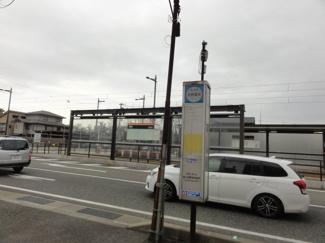 富山市内線「安野屋」停・富山地鉄バス「安野屋」バス停