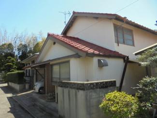 【外観】大村市玖島1丁目 売地(古屋付)