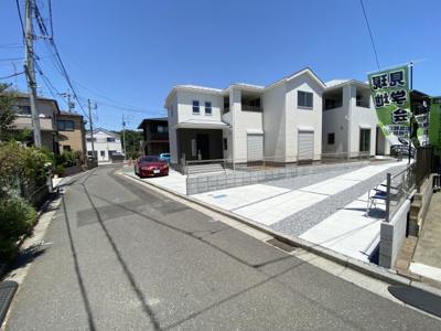 【前面道路含む現地写真】現地見学会 さいたま市緑区三室土地50坪新築分譲住宅