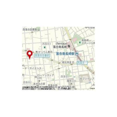 【地図】アリビオ西落合