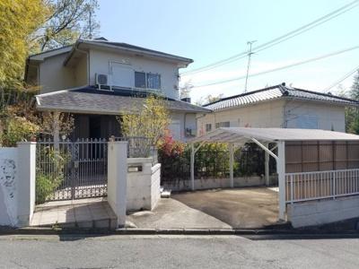 【外観】奈良市古市町戸建て