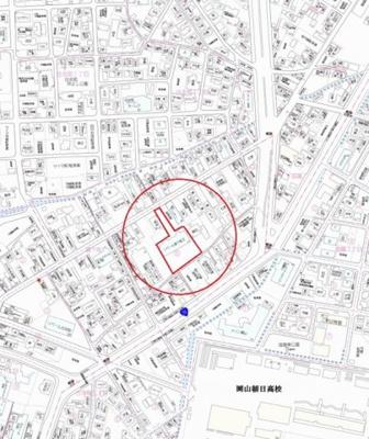 【地図】リベール森下町Ⅱ