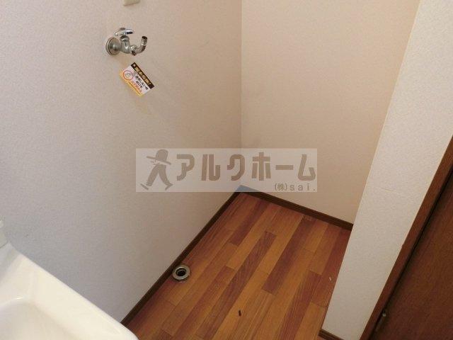 法善寺3LDKテラスハウス(柏原市法善寺) 室内洗濯機置場