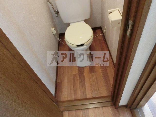 法善寺3LDKテラスハウス(柏原市法善寺) お手洗い