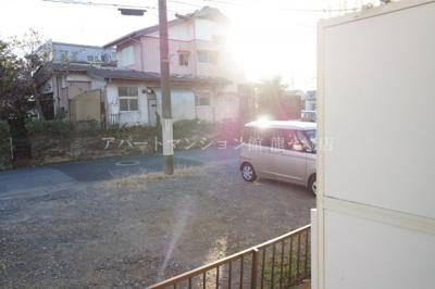 【バルコニー】ウッディパレス服部1