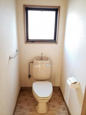 【トイレ】鳥取市大覚寺中古戸建て