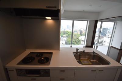 【キッチン】白金高輪駅1分のタワーマンションです レキシントンスクエア白金高輪
