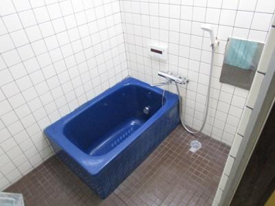 追い焚きができるお風呂です。