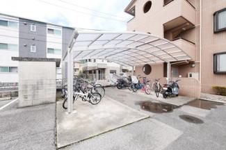 ベルグラン古市2 104号室 自転車置き場