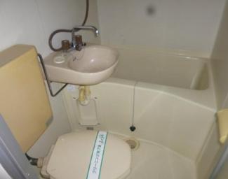 【浴室】埼玉県鶴ヶ島市下新田一棟アパート