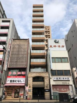 【外観】日本橋駅に徒歩1分のリノベ賃貸