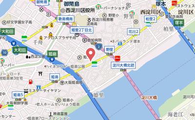 【地図】ヴァンべール姫島