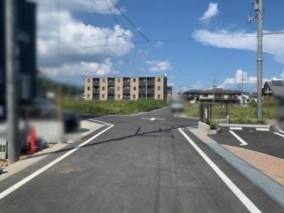 【前面道路含む現地写真】大津市本堅田6丁目2 新築分譲