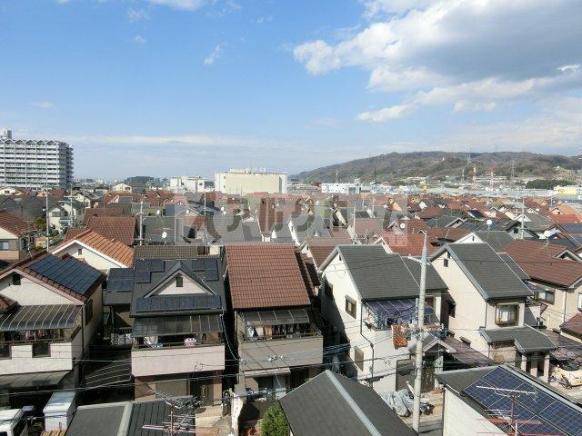 阪南ジャンボハイツ(柏原市石川町 道明寺駅) 眺望