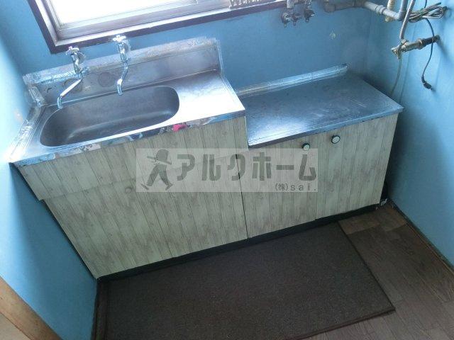阪南ジャンボハイツ(柏原市石川町 道明寺駅) キッチン