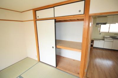 【収納】リバーサイドマンション・レオ