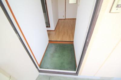 【玄関】リバーサイドマンション・レオ