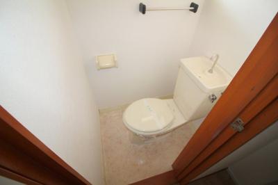 【トイレ】リバーサイドマンション・レオ