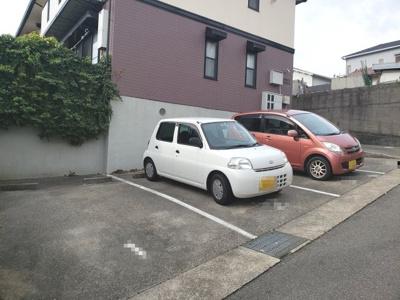 敷地内駐車場☆神戸市垂水区南多聞台 パークヒル舞子☆