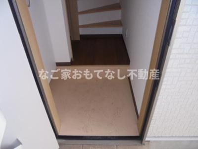 【玄関】アースクエイク上条B棟