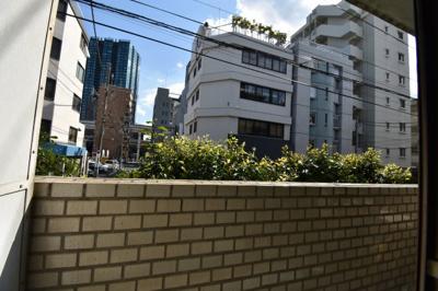 【バルコニー】東京タワーが見える素敵な1LDK メゾン東麻布