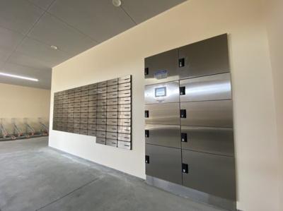 建物側メールBOXです
