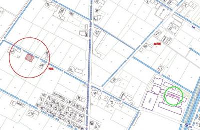 【地図】帯高倉庫付土地