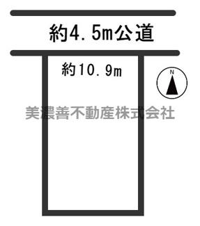【外観】54848 各務原市蘇原月丘町土地