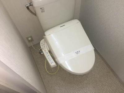 【トイレ】シャーメゾン中村・