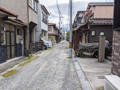 【前面道路含む現地写真】京都市伏見区葭島矢倉町