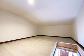《天井収納庫》全室収納+廊下収納+屋根裏収納庫で荷物が多いご家庭でも安心してお住まいになれます!