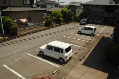 【駐車場】ハイカムール津福