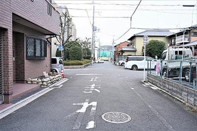 【前面道路含む現地写真】吉祥院八反田町 建築条件付売土地